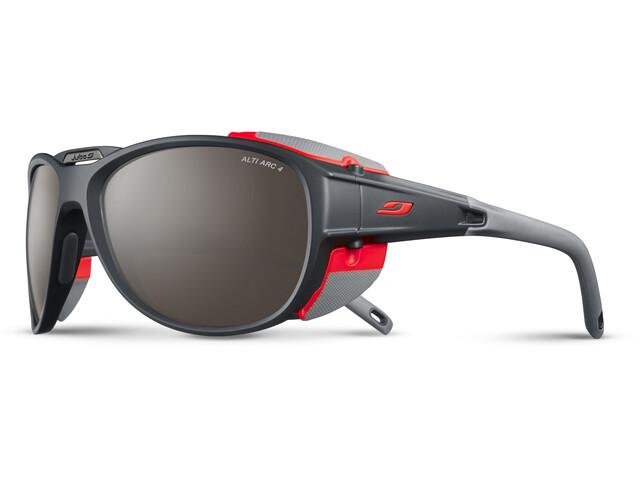 Julbo Explorer 2.0 Alti Arc 4 Sunglasses Anthracite/Orange-Brown Flash Silver